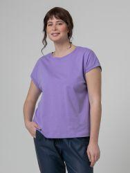 Cotton scoop neck top