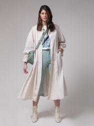 Long trench coat