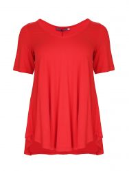 Basic curve hem top