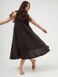 Φόρεμα ριπ με τιράντες