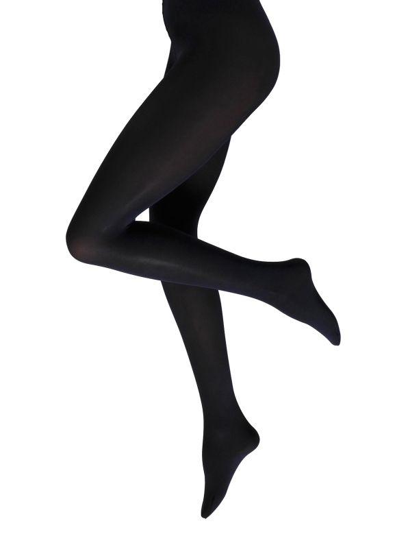 60 DENIER tights BLACK BLUE BLACK