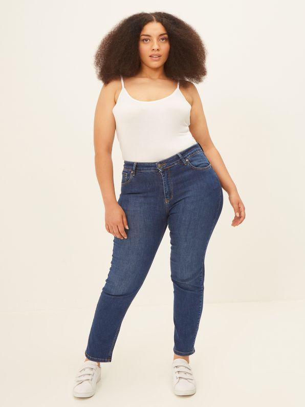 Cigarette basic jeans