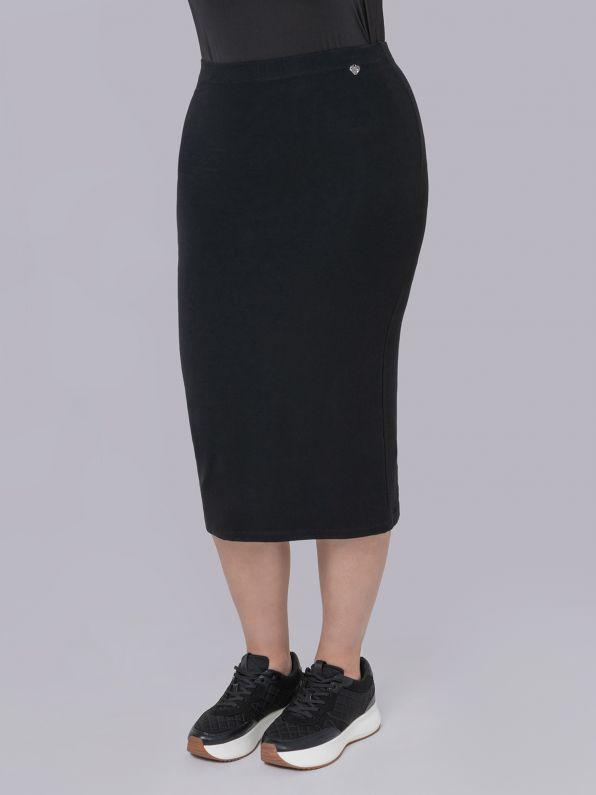 Super-lycra pencil skirt