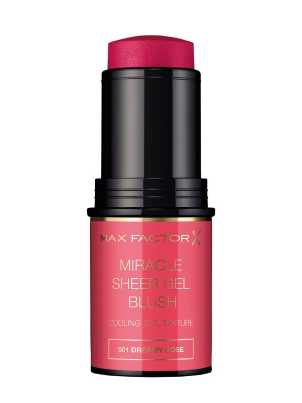 MAX FACTOR Miracle Sheer Gel Blush Stick   001 Dreamy Rose