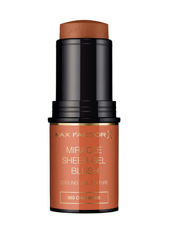 MAX FACTOR Miracle Sheer Gel Blush Stick | 003 Chic Nude