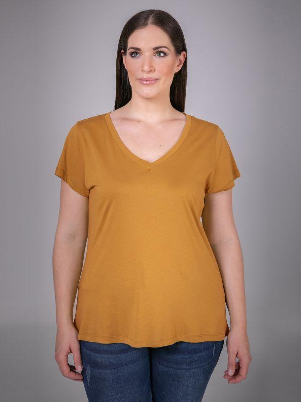 Βαμβακερή μπλούζα V