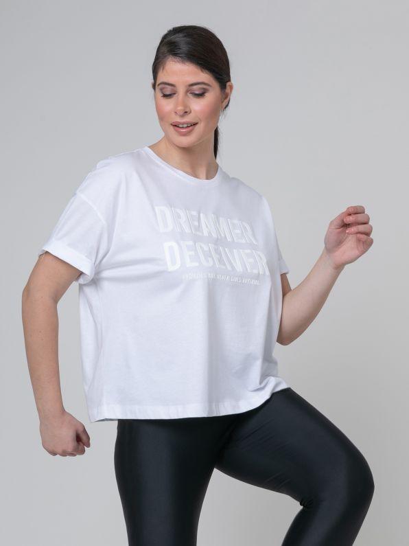 Cotton top 'Dreamer Deceiver'