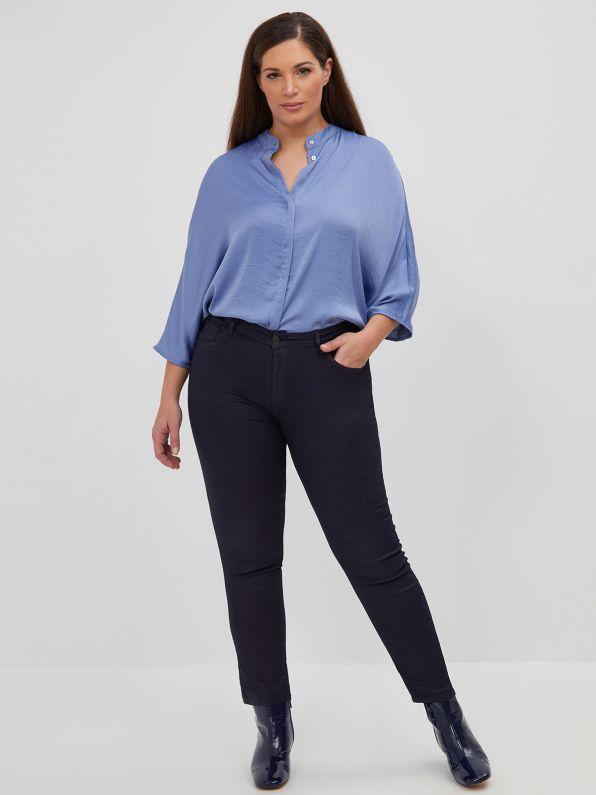 Сigarette jeans in dark blue wash