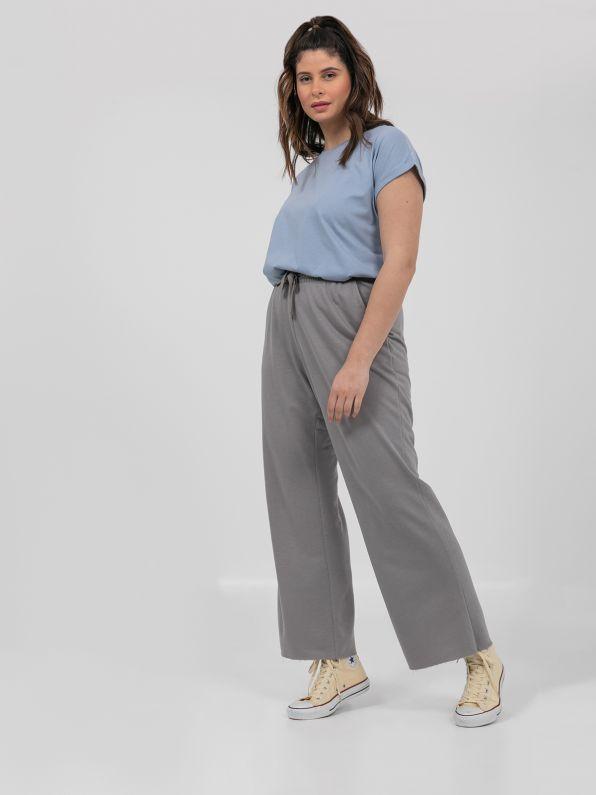 Παντελόνι φούτερ flare