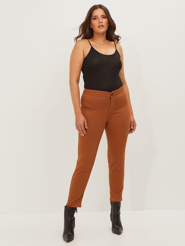 Plain slim-leg jeans