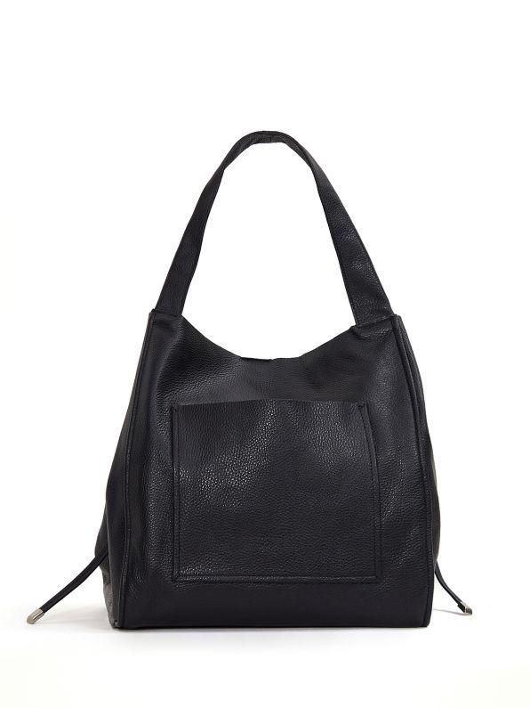 Shopper bag with pocket