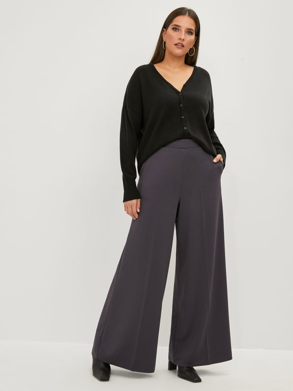 Super elastic palazzo pants