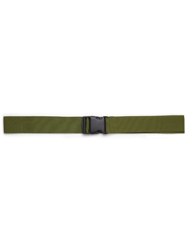Taping belt with clip buckle