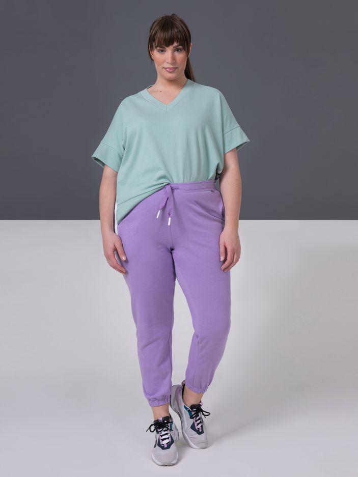 Cotton-blend joggers