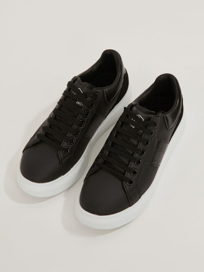 LUMBERJACK | Juliette Leather Sneakers