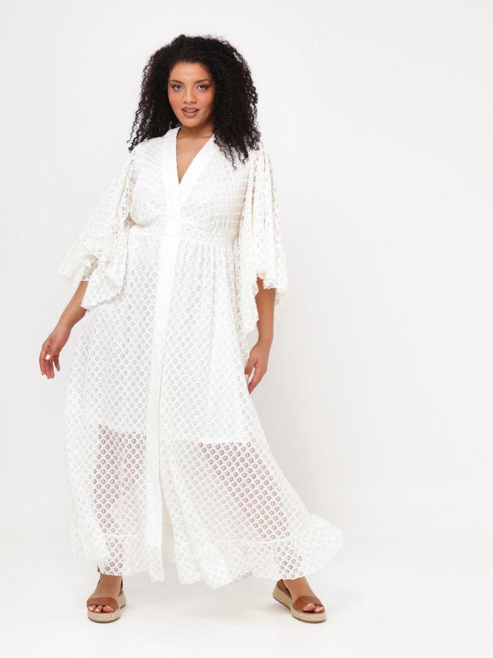 Maxi crochet dress