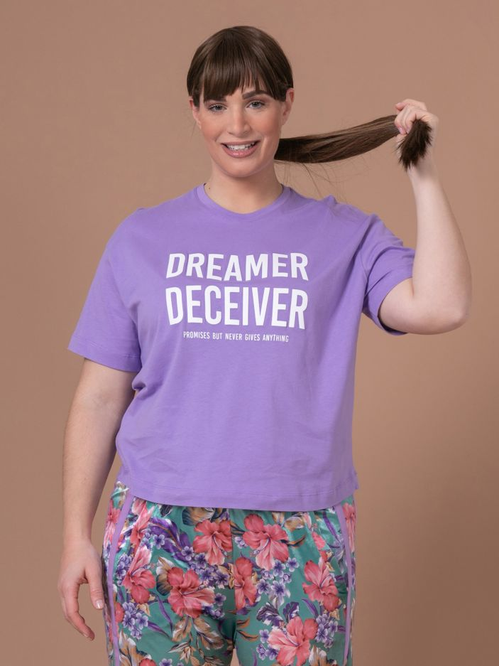 Cotton top 'Dreamer Deceiver'