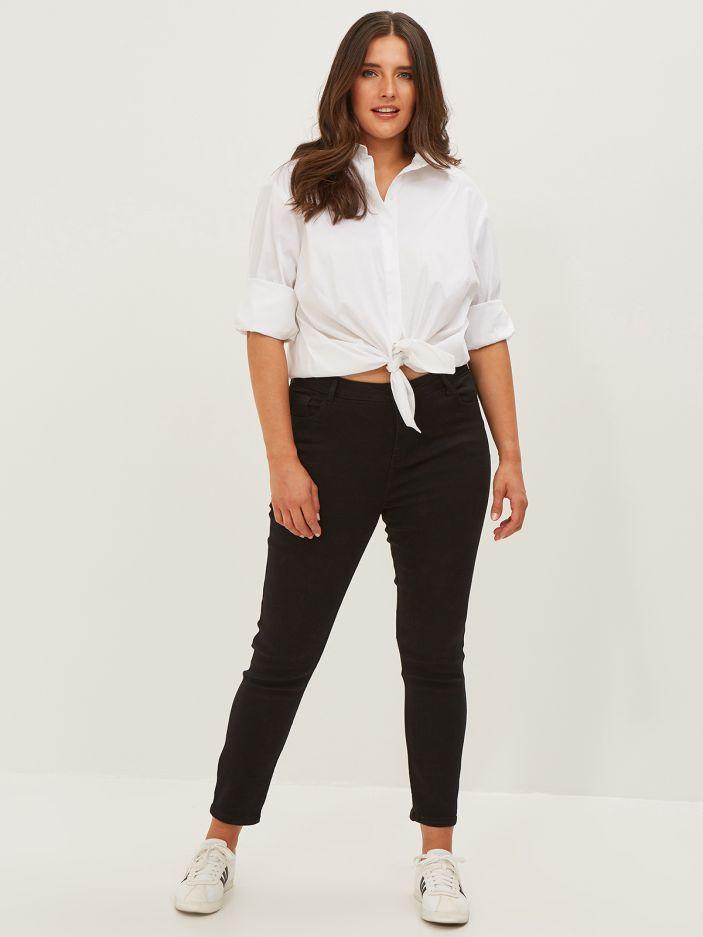 Basic slim-leg jeans