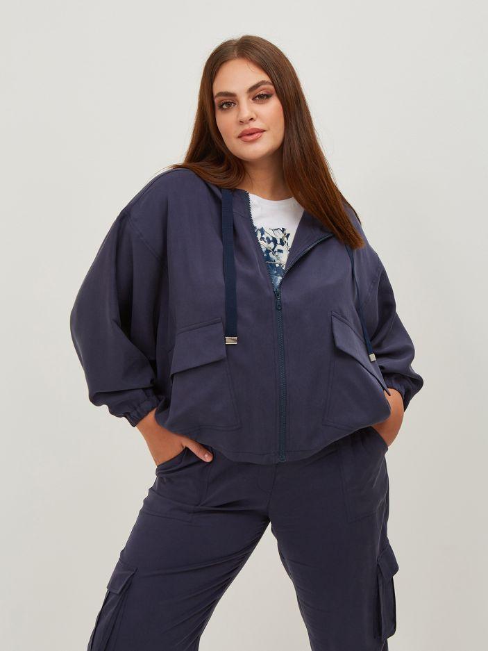 Lyocell cargo jacket