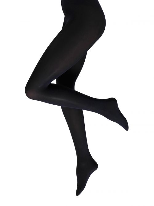 60 DENIER tights BLUE BLACK
