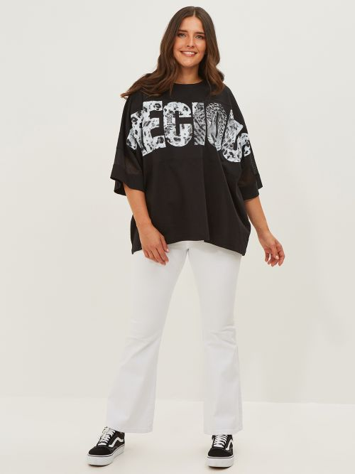 Μπλούζα με τύπωμα 'Precious'