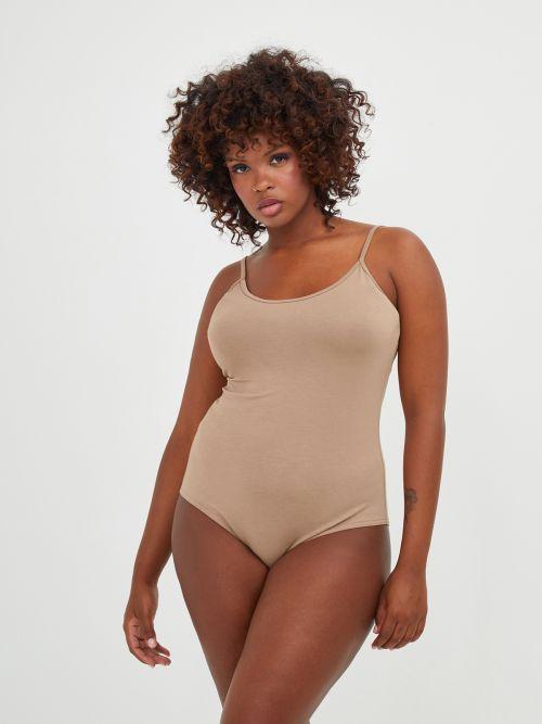 Basic viscose cami bodysuit