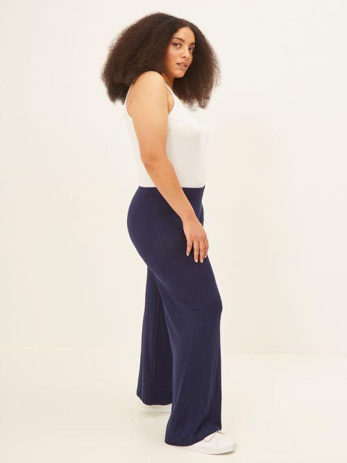 Basic παντελόνα βισκόζη