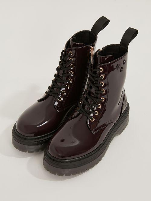LUMBERJACK | Elyse Kombat Boots Nobesto Patent