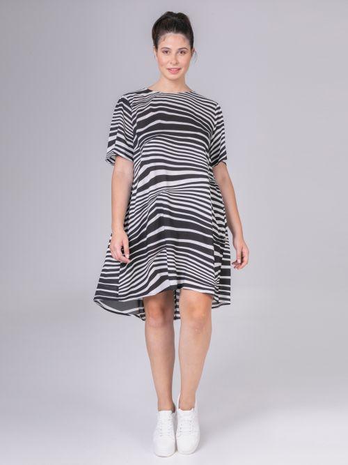 Φόρεμα βισκόζη εμπριμέ | Online Exclusive