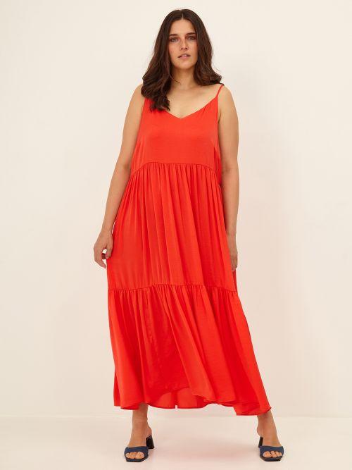 Maxi tiered cami dress