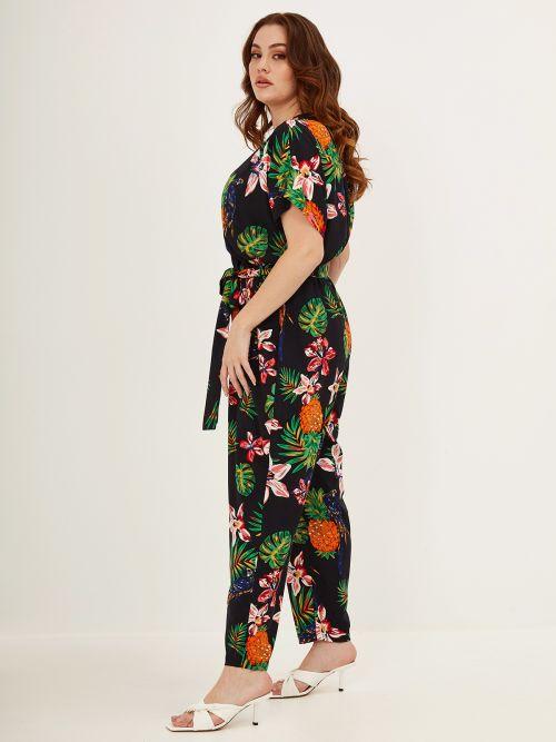 Ολόσωμη φόρμα κρουαζέ φλοράλ