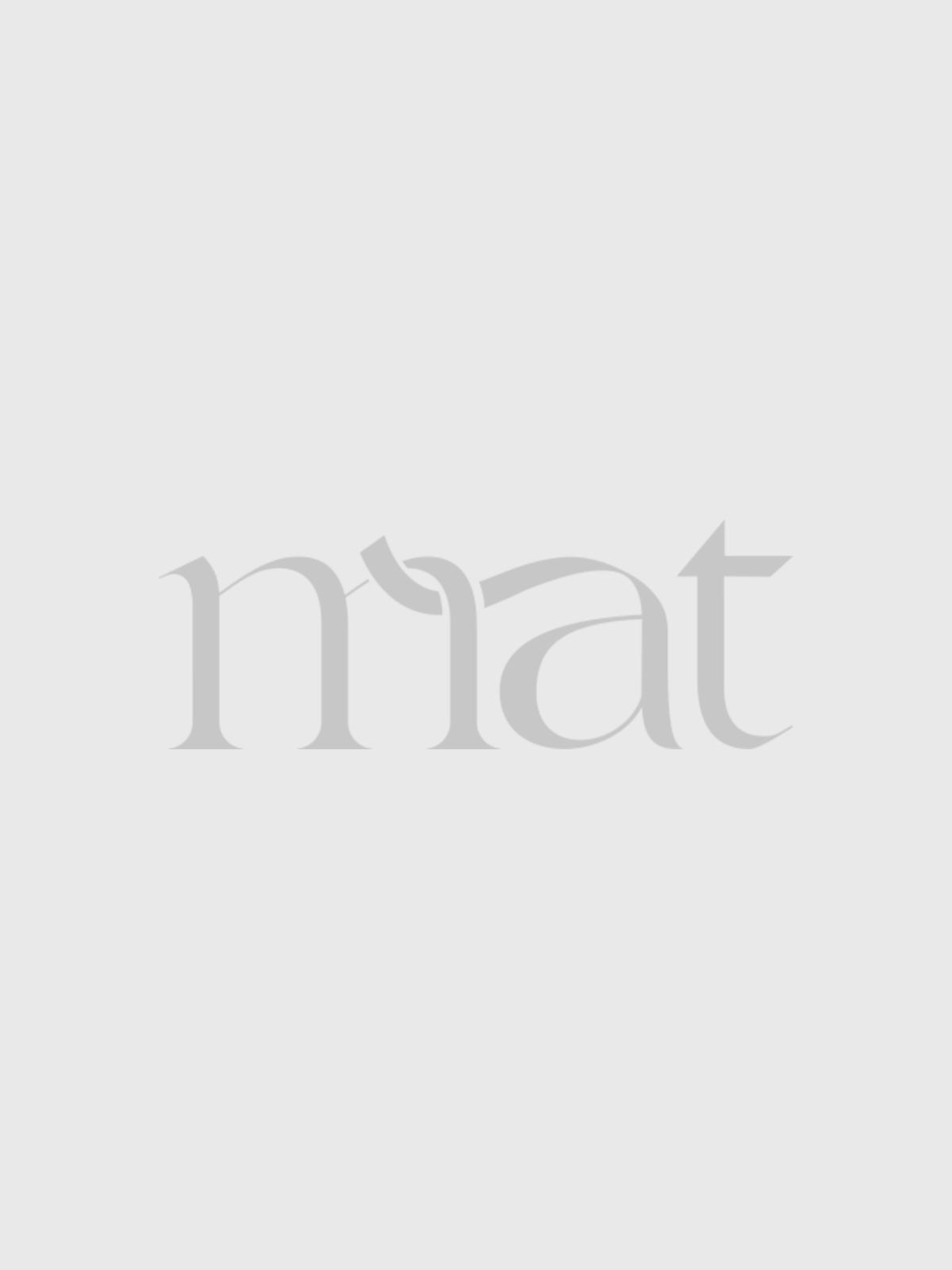 Φούστα βισκόζη με σατέν τελείωμα   Online Exclusive