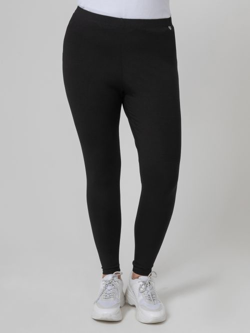 Leggings with elasticated waist