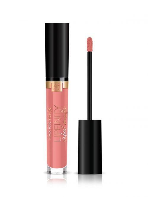 MAX FACTOR Lipfinity Velvet Matte Liquid Lip | 015 Nude Silk