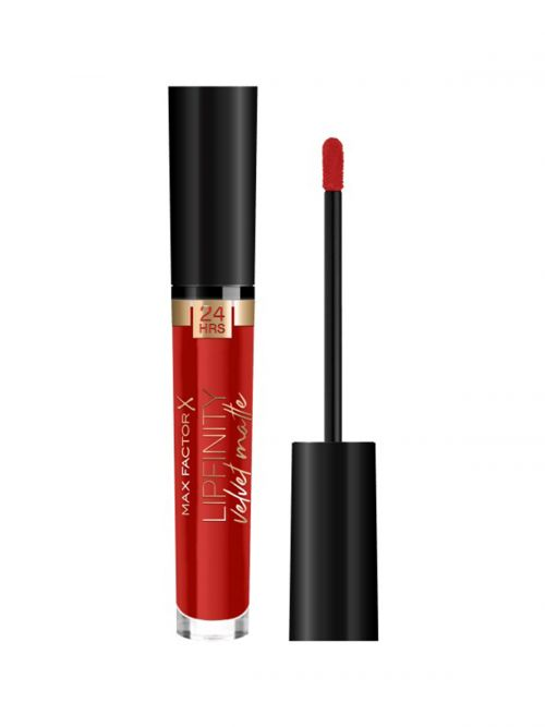 MAX FACTOR Lipfinity Velvet Matte Liquid Lip | 025 Red Luxury