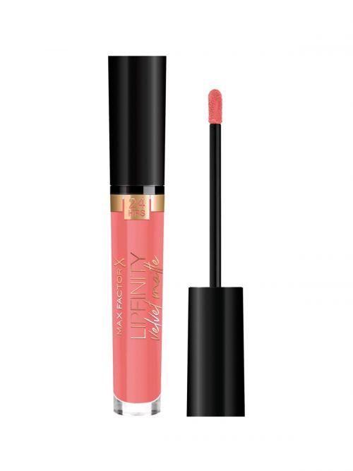 MAX FACTOR Lipfinity Velvet Matte Liquid Lip | 030 Cool Coral
