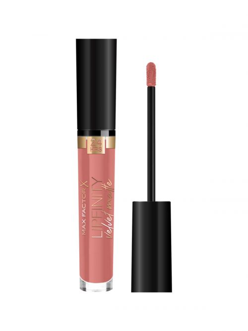 MAX FACTOR Lipfinity Velvet Matte Liquid Lip | 065 Vanity Brown