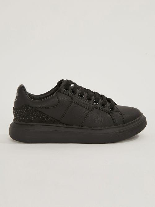 LUMBERJACK | Juliette Sneakers Nobesto Leather with crystal studs