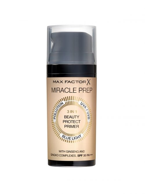 MAX FACTOR Miracle Prep 3in1 Beauty Protect Primer SPF30