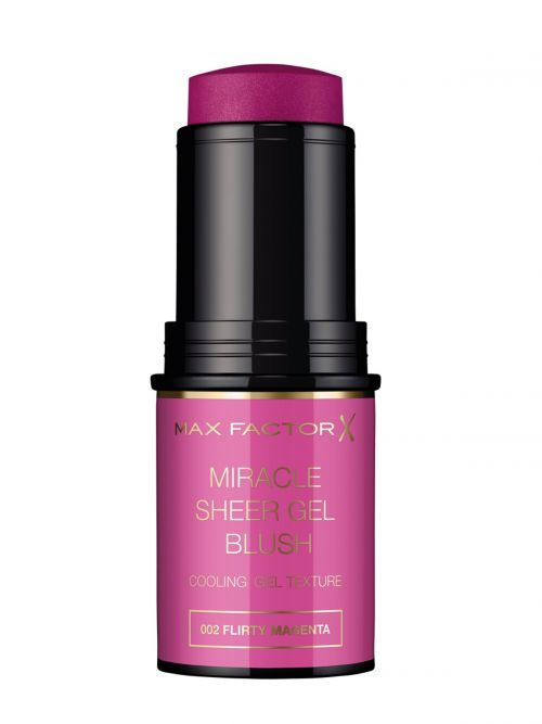 MAX FACTOR Miracle Sheer Gel Blush Stick | 002 Flirty Magenta
