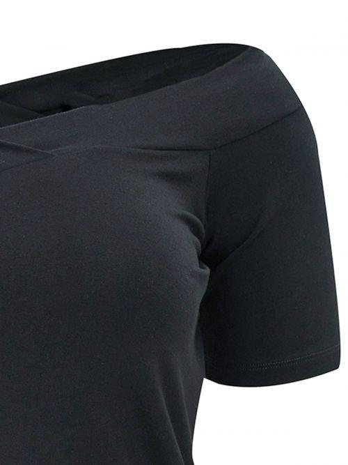 Viscose off-shoulder top