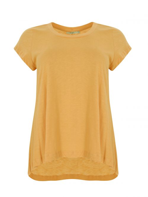 Cotton round neck top