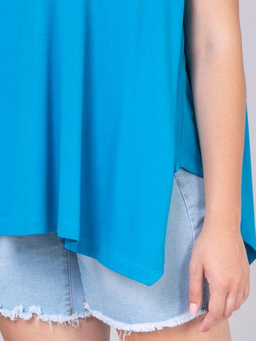 Μπλούζα βισκόζη με πτυχώσεις | Online Exclusive
