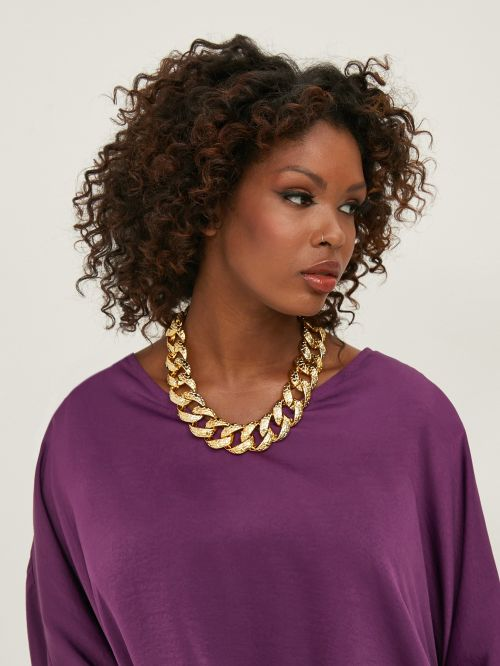 Oversize chain necklace