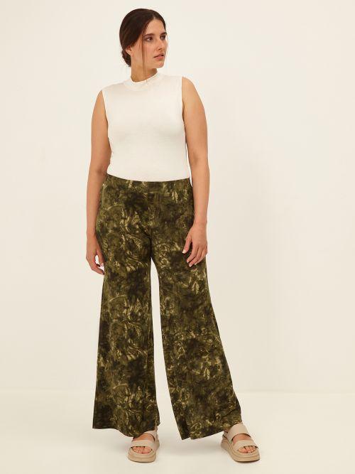 Παντελόνα εμπριμέ tie dye | Online Exclusive