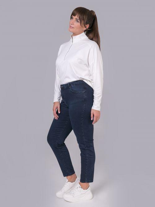 Slim jeans in blue denim