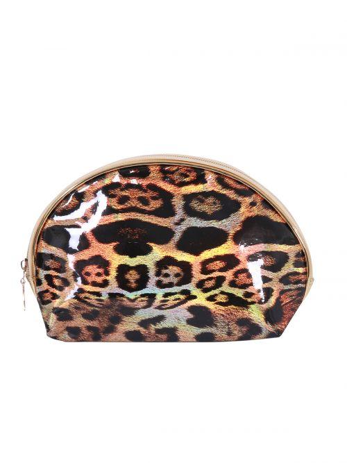 Wallet in leopard print