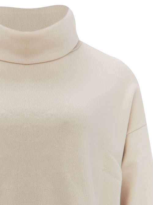 Μπλούζα πλεκτή ζιβάγκο μονόχρωμη
