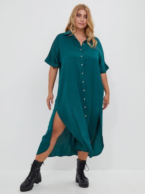 Φόρεμα σεμιζιέ σατέν