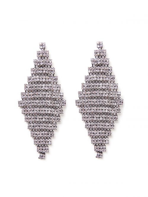 Diamond shape earrings